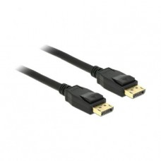 DisplayPort kabel 3m Delock črn