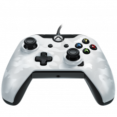 PDP XONE WIRED CONTROLLER WHITE CAMO