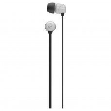 SKULLCANDY SLUŠALKE JIB IN-EAR W/O MIC BLACK/WHITE S2DUDZ-072
