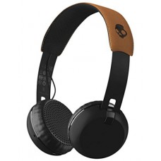 SKULLCANDY SLUŠALKE GRIND WIRELESS ON-EAR BLACK/BLACK/TAN S5GBW-J543
