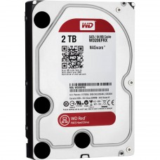 Trdi disk WD 2TB Red, SATA3, 3,5'' 64MB (WD20EFRX)