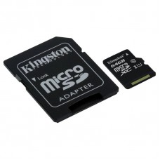 SDXC Kingston Micro 64GB C10 (SDCX10G2/64GB)